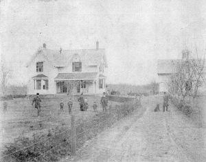 Echo Hall circa 1870