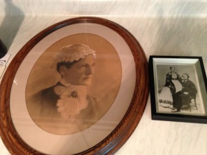 Photos of the original owners of Echo Hall